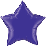 "Purple Quartz Star Shaped Balloon - 20"" Foil"