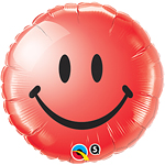 18'' Smiley Face Red