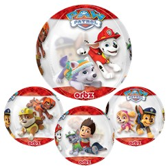 Paw Patrol Chase & Marshall Orbz Balloon - 25""