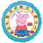 "Peppa Pig Happy Birthday Balloon - 18"" Foil"