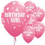 11'' Birthday Girl Assortment