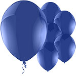 Celebration Blue Balloons - 11'' Latex