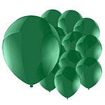 Celebration Green Balloons - 5'' Latex