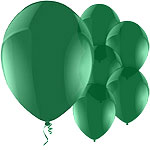 Celebration Green Balloons - 1