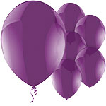 Celebration Purple Balloons - 11'' Latex