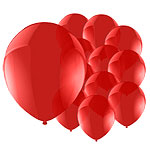 Celebration Red Balloons - 5'' Latex