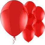 "Celebration Red Balloons - 11"" Latex"