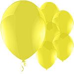 Celebration Yellow Balloons - 11'' Latex