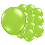 Chic Green Balloons - 5'' Latex