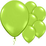 "Chic Green Balloons - 11"" Latex"