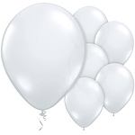 Diamond Clear Balloons - 11'' Latex