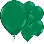 Holly Green Balloons - 11'' Latex