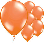 Juicy Orange Balloons - 11'' Latex