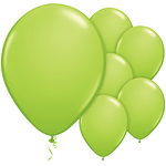 Lime Green Balloons - 11'' Latex