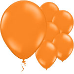 Orange Citrus Balloons - 11'' Latex