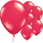 Passion Red Balloons - 11'' Latex