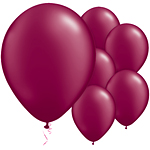 Burgundy Pearl Balloons - 11'' Latex