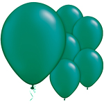 Emerald Green Pearl Balloons - 11'' Latex