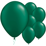 Forest Green Pearl Balloons - 11'' Latex
