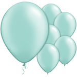 "Mint Green Pearl Balloons - 11"" Latex"
