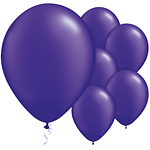 Purple Quartz Pearl Balloons - 11'' Latex