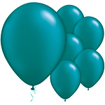 Teal Pearl Balloons - 11'' Latex