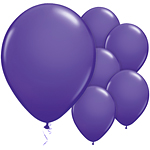 Purple Violet Balloons - 11'' Latex