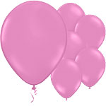 Rose Pink Balloons - 11'' Latex