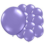 Royal Purple Balloons - 5'' Latex