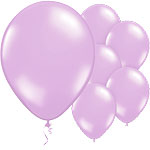 Soft Lavender Balloons - 11'' Latex