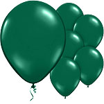 Verdant Green Balloons - 11'' Latex