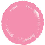 Metallic Pink Round Balloon - 18'' Foil