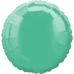 Wintergreen Round Balloon - 18'' Foil - unpackaged