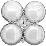 "Silver Magic Arch Balloon - 29"" Foil"