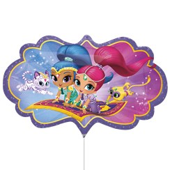 Shimmer &  Shine Supershape Balloon - 27""