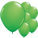 "Spring Green Balloons - 11"" Latex"