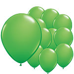 "Spring Green Mini Balloons - 5"" Latex"