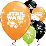 Star Wars Balloons - 11'' Latex - 25 pack