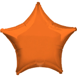 Orange Star Balloon - 19