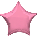 "Metallic Pink Star Balloon - 19"" Foil"