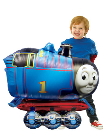 Thomas the Tank Engine Airwalker Balloon - 36'' Foil