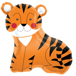 "Tiger Supershape Balloon - 33"" Foil"