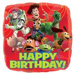 "Toy Story Happy Birthday Balloon - 18"" Foil"