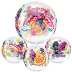"Trolls Clear Orbz Balloon - 16""-18"" Foil"