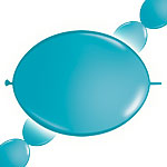 "Tropical Teal Quicklink Balloons - 12"" Latex"