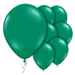 "Emerald Green Prolite Valved Balloons - 9"" Latex"