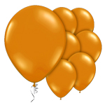 "Mandarin Orange Prolite Valved Balloons - 9"" Latex"