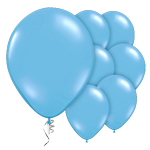 "Pale Blue Prolite Valved Balloons - 9"" Latex"