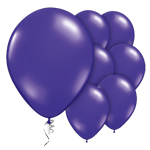 "Purple Quartz Prolite Valved Balloons - 9"" Latex"