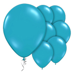 "Jewel Teal Prolite Valved Balloons - 9"" Latex"